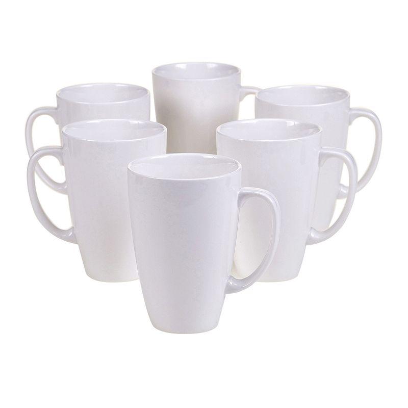Certified International Ellipse 6-pc. Porcelain Mug Set