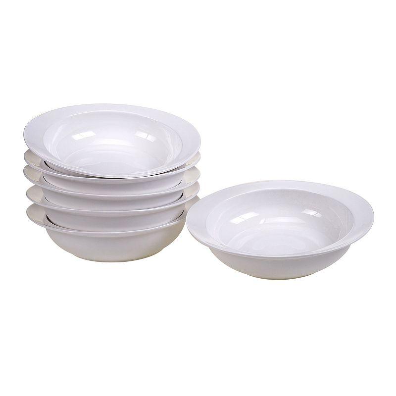 Certified International Ellipse 6-pc. Porcelain Soup Bowl Set