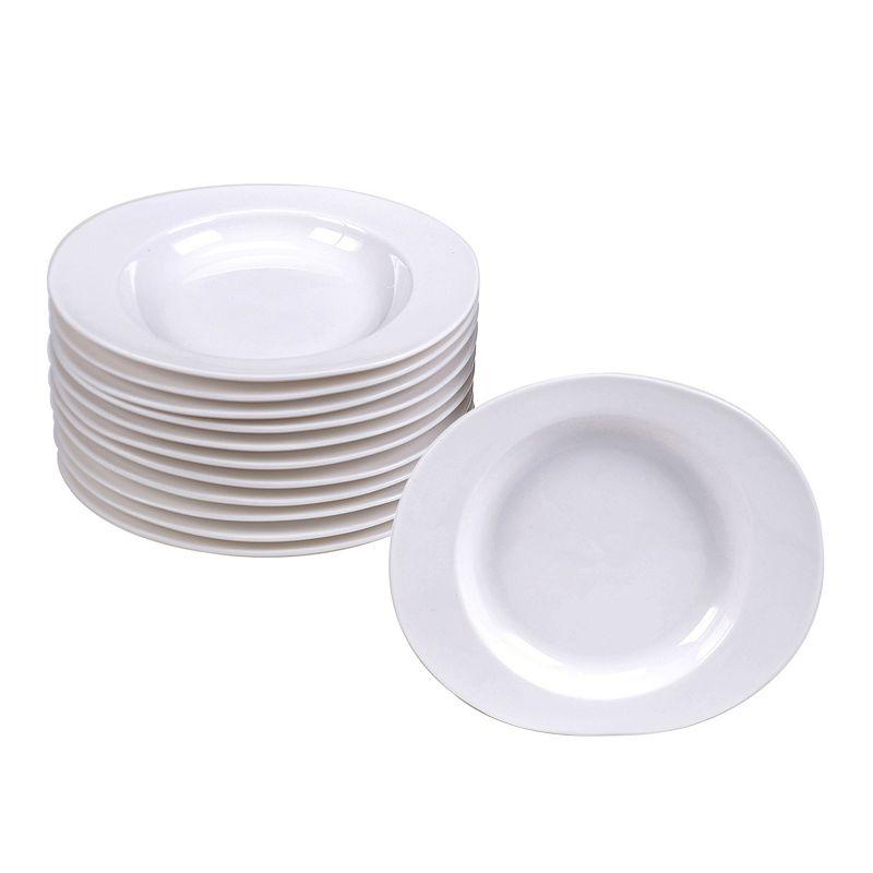 Certified International Ellipse 12-pc. Porcelain Appetizer Plate Set