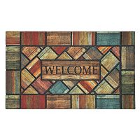 Mohawk® Home Woodland Walk ''Welcome'' Doormat - 18'' x 30''