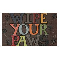 Mohawk® Home ''Wipe Your Paws'' Doormat - 18'' x 30''