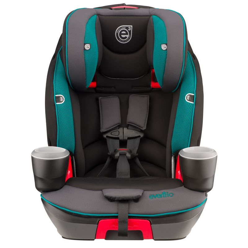 Evenflo Evolve Booster Car Seat, Green