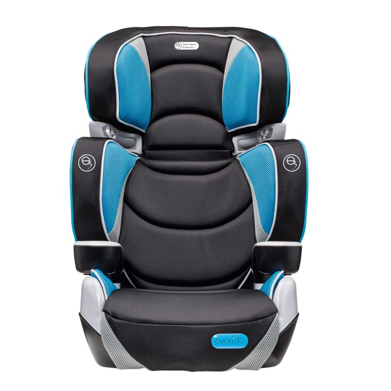 Evenflo RightFit Booster Car Seat, Blue