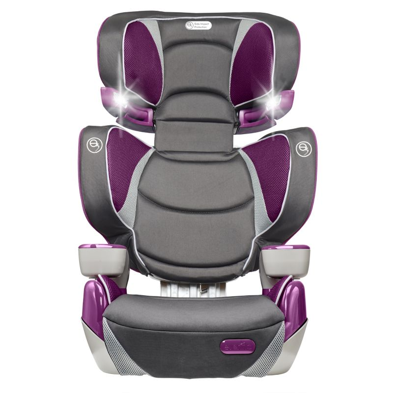 Evenflo RightFit Booster Car Seat, Purple