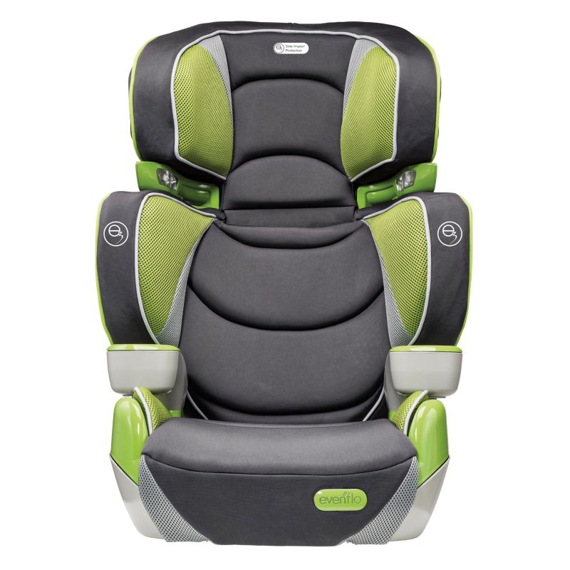 Evenflo RightFit Booster Car Seat, Green