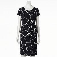 Women's MSK Print Shift Dress
