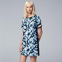 Women's Simply Vera Vera Wang Pajamas: Casting Shadows Sleep Shirt