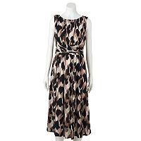 Women's Perceptions Abstract Midi Dress
