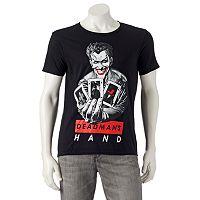 Men's DC Comics The Joker Cards Tee