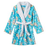 Disney's Frozen Elsa Girls 4-10 Bath Robe