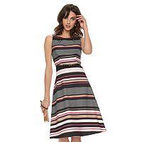 Women's ELLE™ Print Pleated Midi Dress