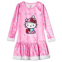 Girls 4-10 Hello Kitty® Fairisle Dorm Nightgown