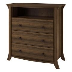 Altra Oakridge 3-Drawer Media Dresser by