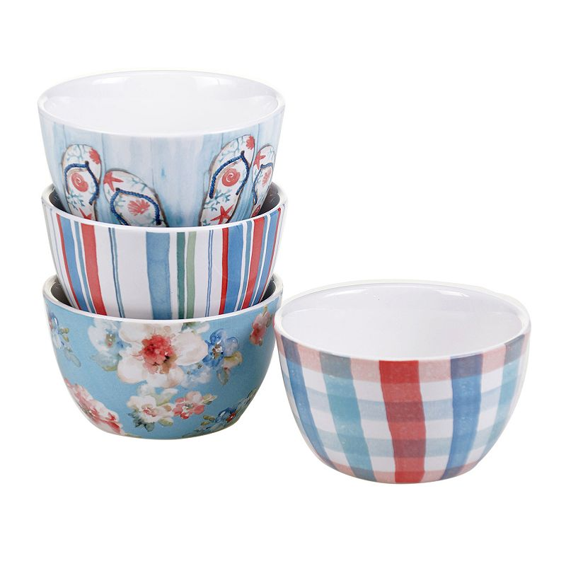 Certified International In The Moment 4-pc. Ice Cream Bowl Set