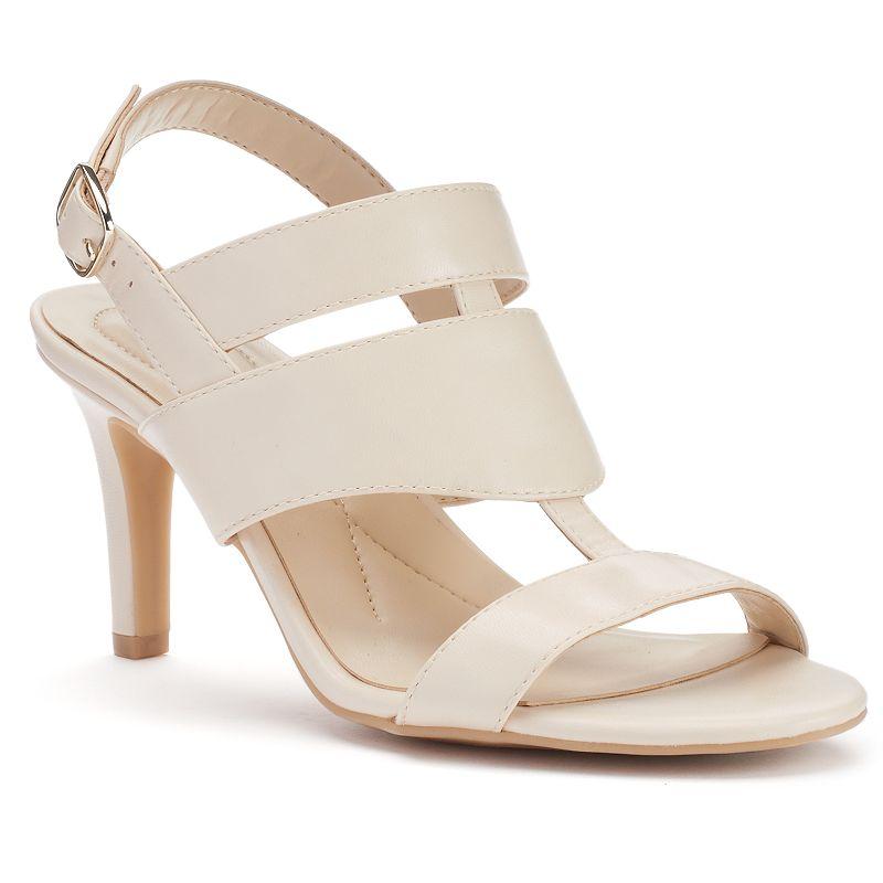 Andrew Geller Unique Women's Sling back High Heels