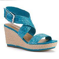 Andrew Geller Diyna Women's Wedge Sandals