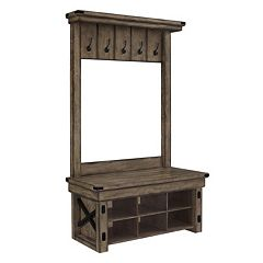 Altra Wildwood 5-Hook Entryway Storage Bench by