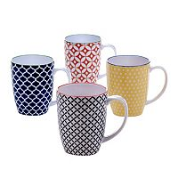 Certified International Chelsea 4-pc. Coffee Mug Set