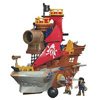 Imaginext Shark Bite Pirate Ship by Fisher-Price