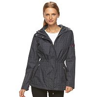 Women's Free Country Hooded Reversible Anorak Jacket
