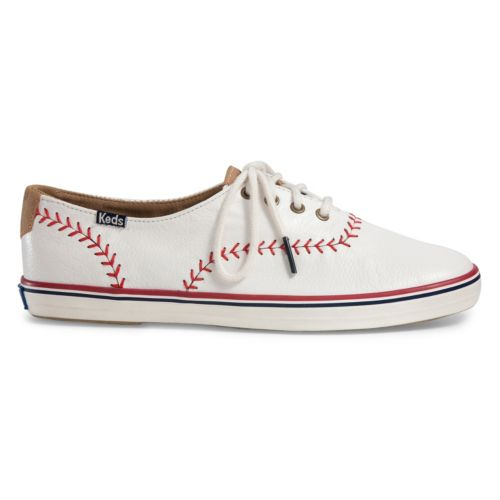 keds champion pennant womens leather shoes