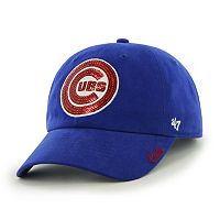 Women's '47 Brand Chicago Cubs Sparkle Adjustable Cap