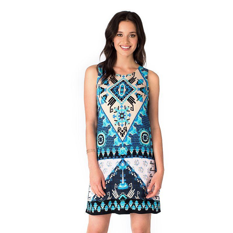 Women's Indication Printed Shift Dress
