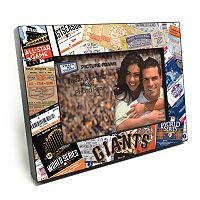 San Francisco Giants Ticket Collage 4