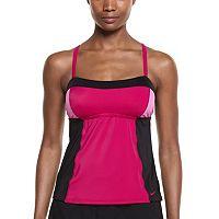 Women's Nike Color Surge Colorblock Tankini Top