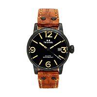 TW Steel Men's Maverick Leather Watch - MS31
