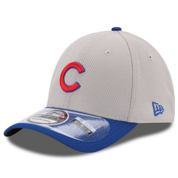 Adult New Era Chicago Cubs 39THIRTY 2Tone Patched Flex-Fit Cap