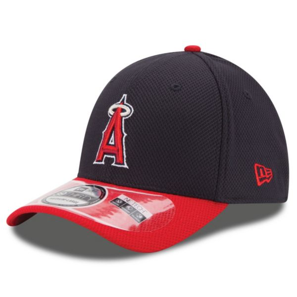 Adult New Era Los Angeles Angels of Anaheim 39THIRTY 2Tone Patched Flex-Fit Cap