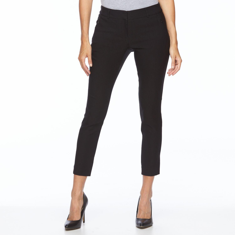 Womens Apt. 9? Skinny Millennium Ankle Pants