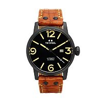 TW Steel Men's Maverick Leather Automatic Watch - MS36