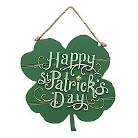 Celebrate St. Patrick's Day Together Shamrock Wall Decor