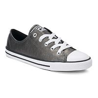 Women's Converse Chuck Taylor All Star Dainty Metallic Leather Shoes