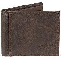Men's Bill Adler RFID-Blocking Leather Bifold Wallet