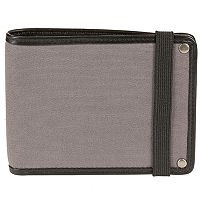 Men's Bill Adler RFID-Blocking Canvas Wallet