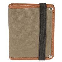 Men's Bill Adler RFID-Blocking Canvas Card & ID Wallet