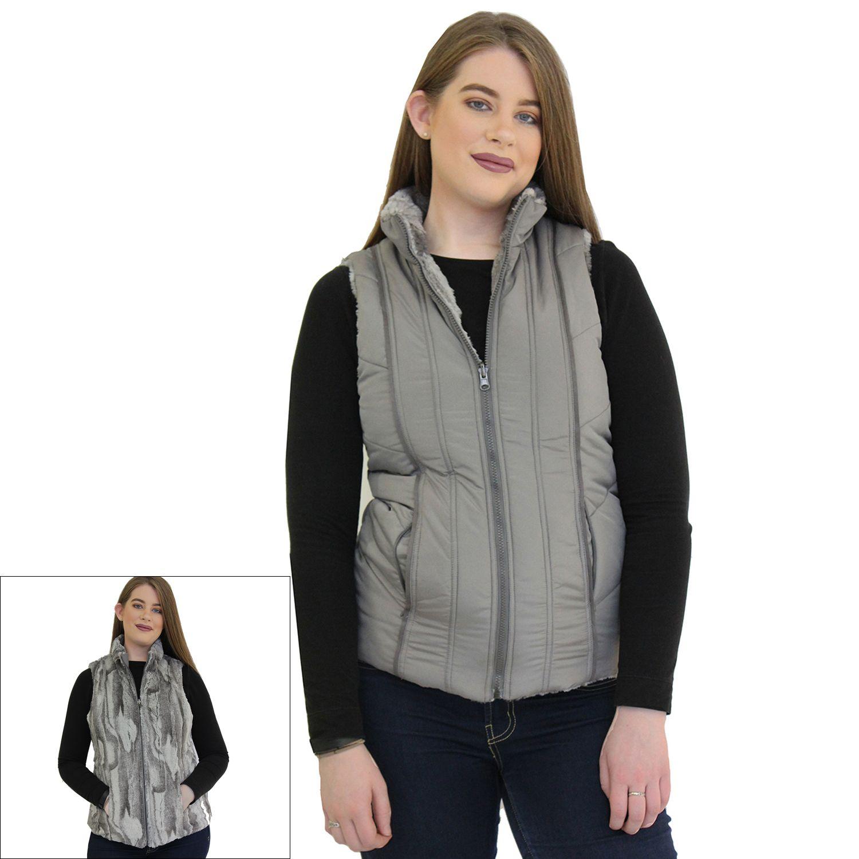 Womens MO-KA Reversible Puffer  Vest
