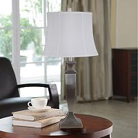Catalina Brushed Nickel LED Table Lamp