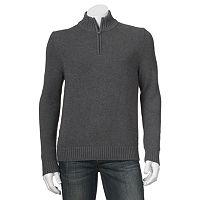 Men's Croft & Barrow® Classic-Fit Quarter-Zip Sweater