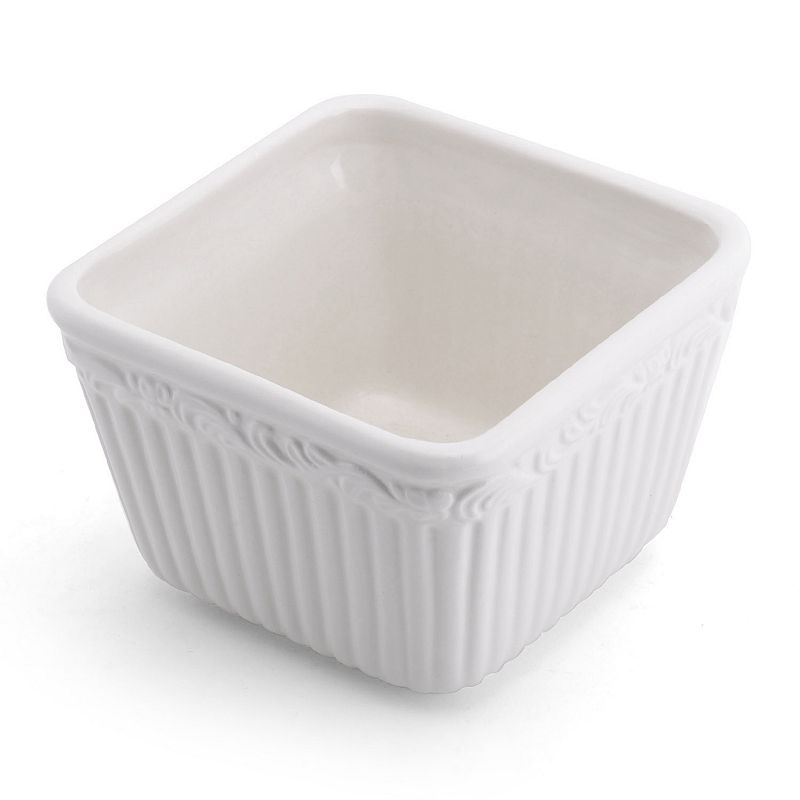 Mikasa Italian Countryside 4-pc. Square Soup / Cereal Bowl Set