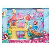 Disney Princess Little Kingdom Ariel's Sea Castle & Boat Playset by Hasbro