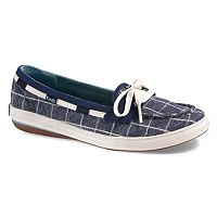 Keds Glimmer Women's Ortholite Plaid Boat Shoes