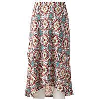 Women's Loramendi Medallion Faux-Wrap Skirt