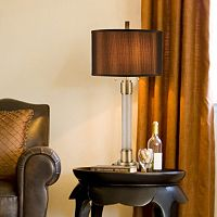 Catalina Cracked Glass Table Lamp