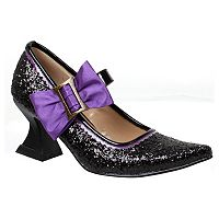 Kids Black Witch Costume Shoes