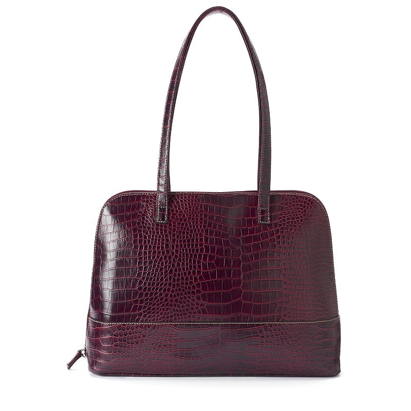 Sorella Margo Exotic Crocodile Dome Tote