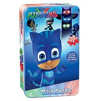 PJ Masks Mask Puzzle Tin by Cardinal